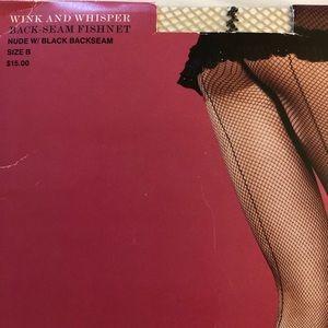 Victoria's Secret Accessories - Victoria's Secret Back-seam fishnet